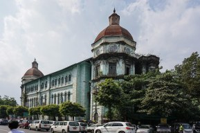 21. Yangon - abandoned colonial era building